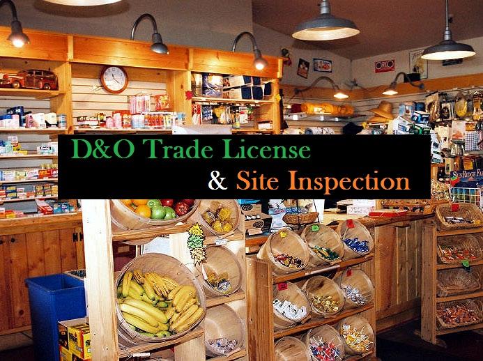 D&O Trade License
