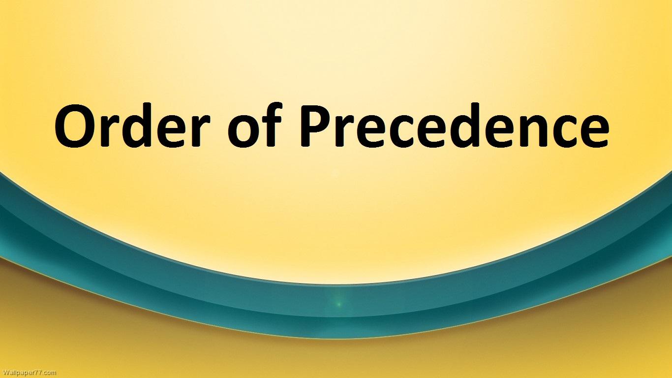 orderofprecedence
